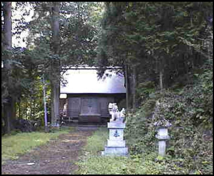 旗鉾神社(日抱宮)