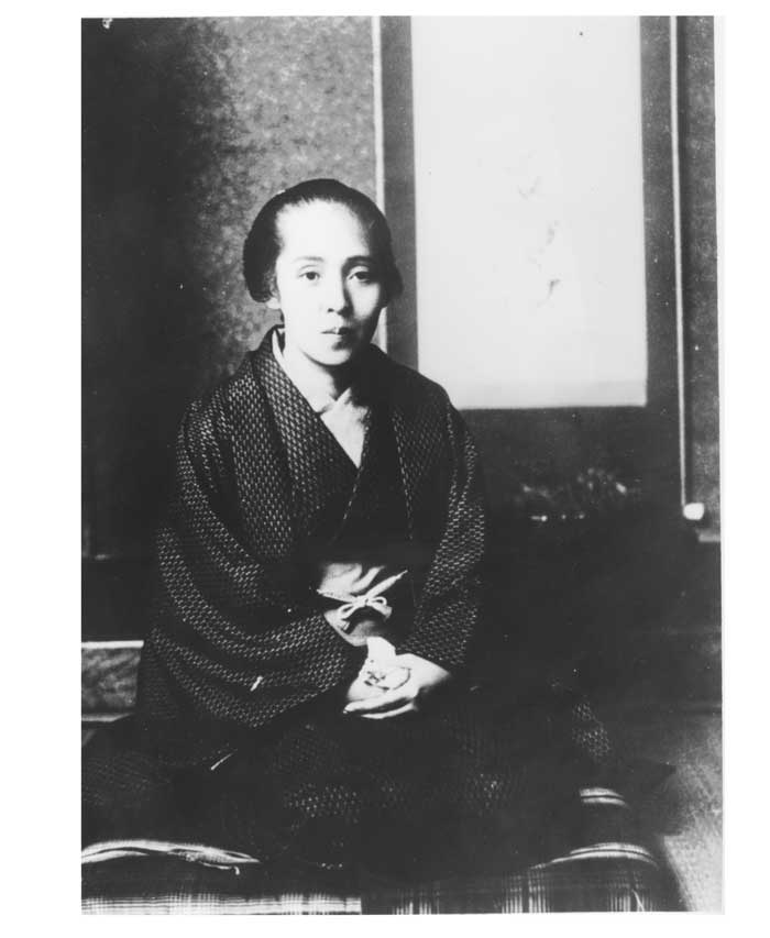世界最初の念写に成功した長尾郁子